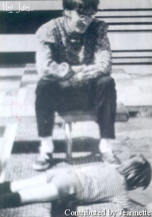 John and Julian Lennon